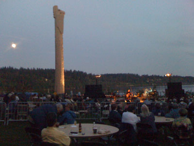 Suquamish Clearwater Casino is a great venue for summer concerts