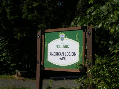 American Legion Park Poulsbo, WA