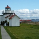 Point No Point Lighthouse by Susan Henry