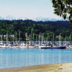 The Poulsbo Marina by Mary Saurdiff