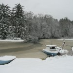 Winter on Miller Bay by Susan Henry