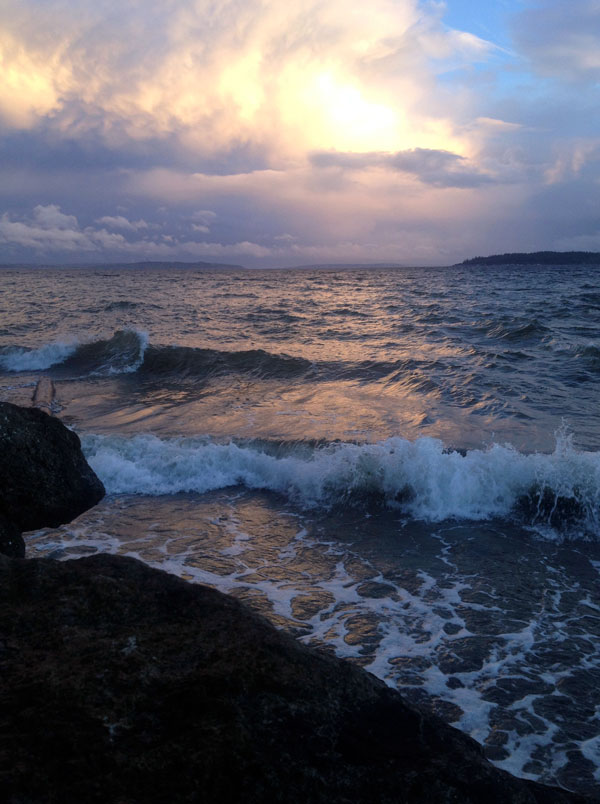 Golden Hour - Indianola Beach